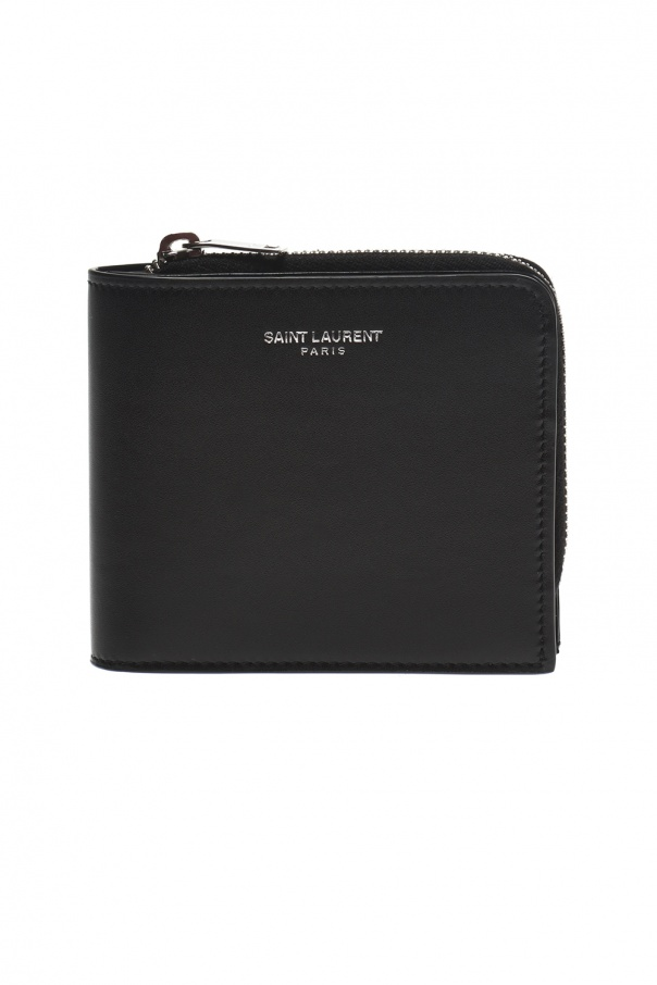 Logo wallet od Saint Laurent