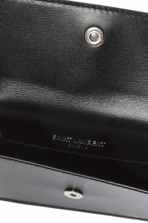 Branded card case od Saint Laurent