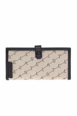 Logo-embroidered wallet od Stella McCartney