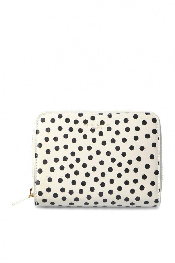 Saint Laurent Folding wallet with logo