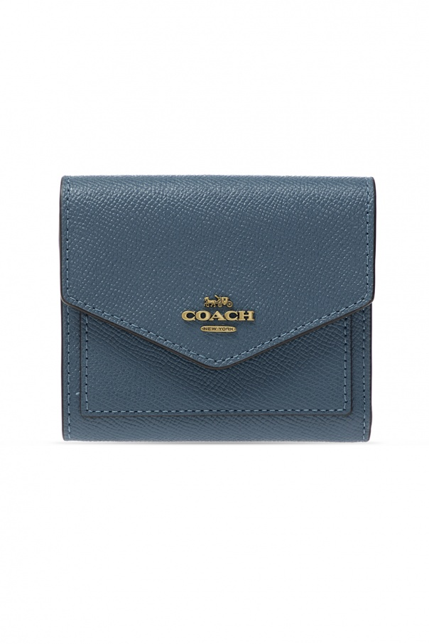 Coach Leather wallet with logo