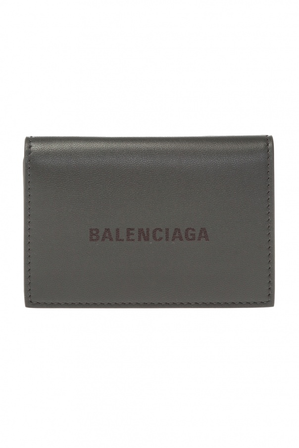 Balenciaga Portfel z logo