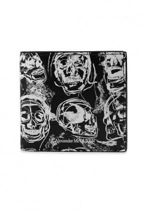 Printed wallet od Alexander McQueen