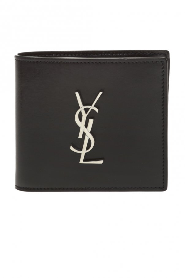 Saint Laurent Bifold wallet with logo