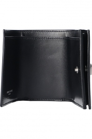 Leather wallet with logo od Saint Laurent