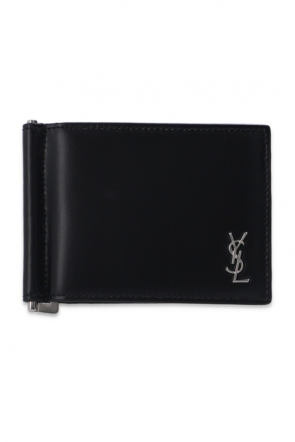 Saint Laurent Card holder with logo