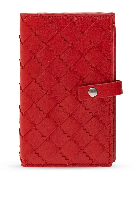 Bottega Veneta 'Intrecciato' weave wallet