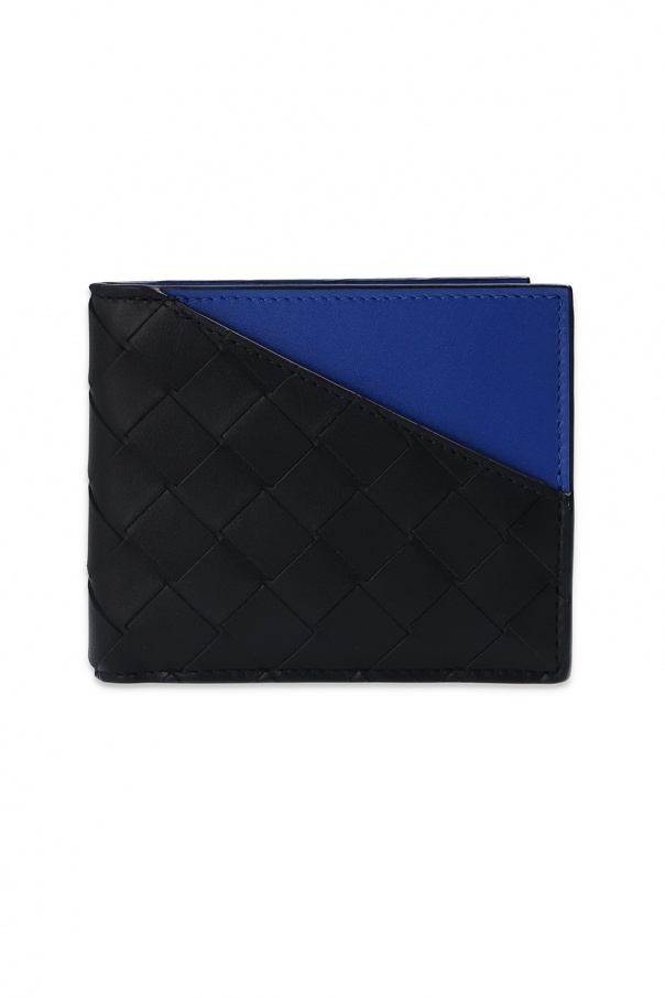 Bottega Veneta 'Intrecciato' weave folding wallet