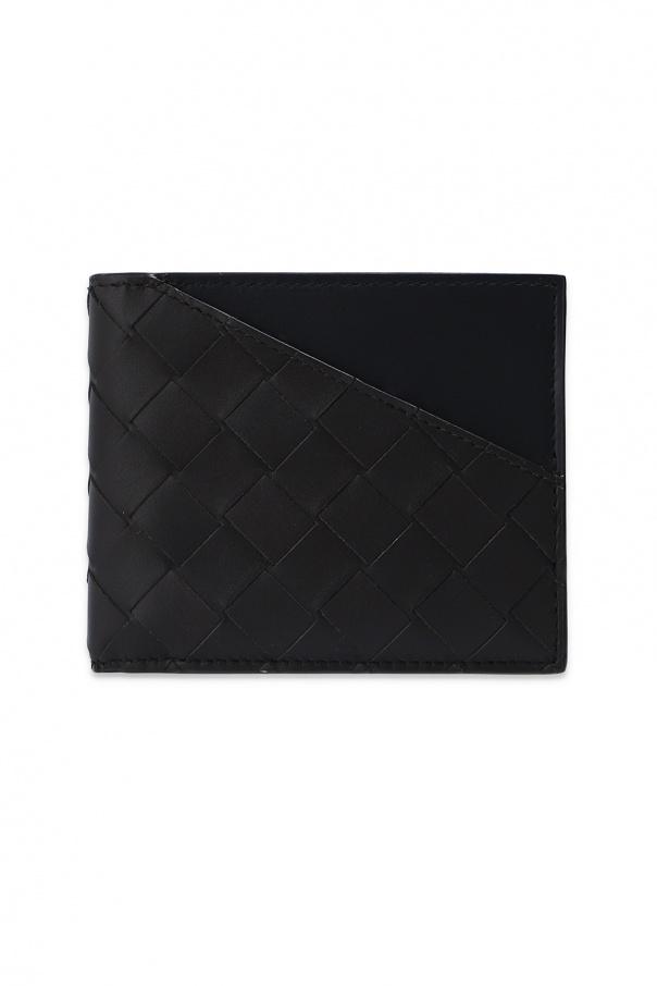 Bottega Veneta 'Intrecciato' weave folding wallet