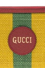 Gucci Woven wallet with logo