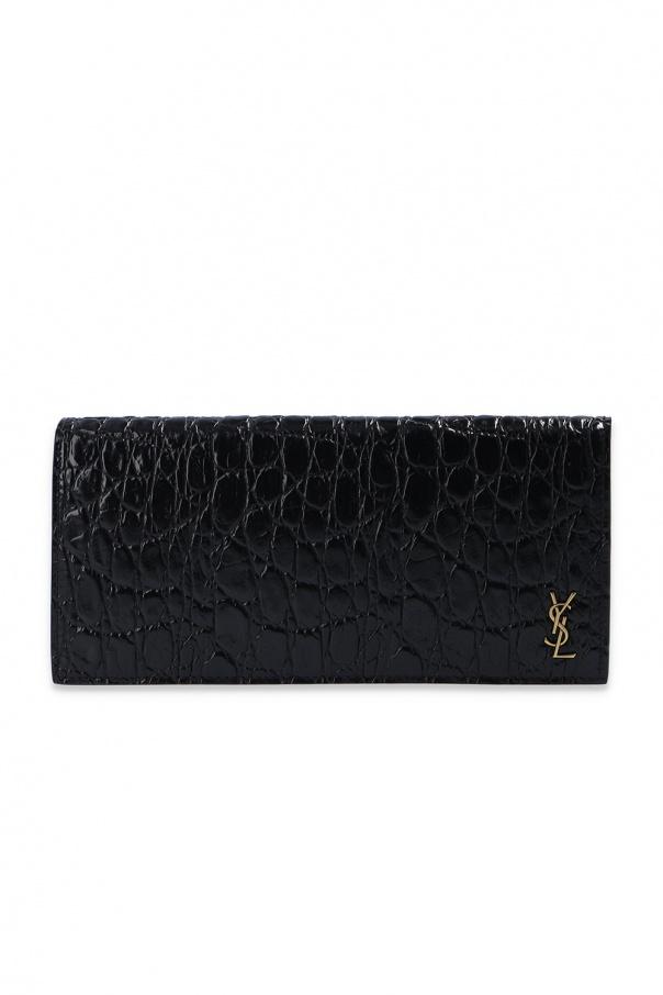 Saint Laurent Animal-embossed wallet