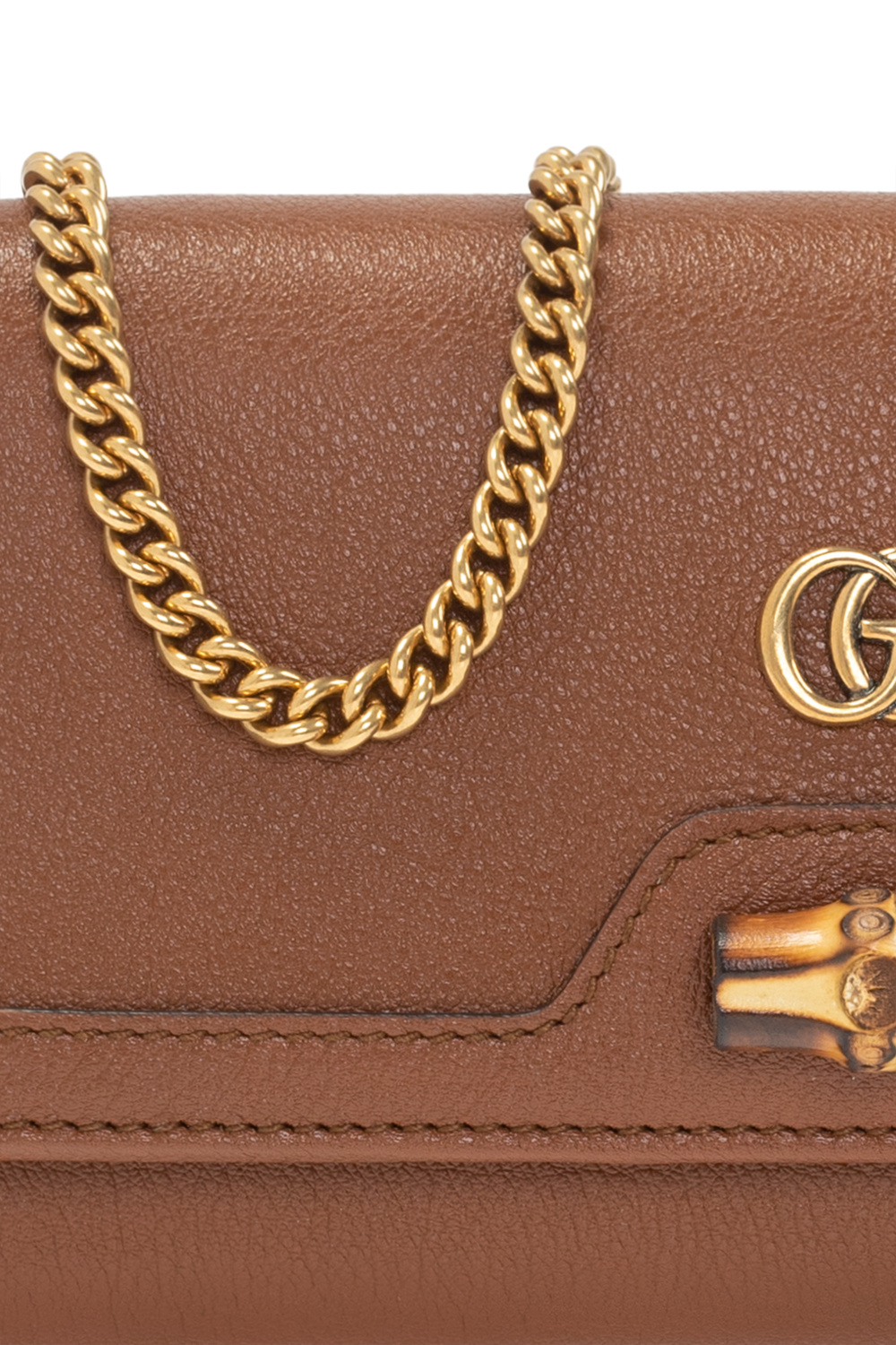 Gucci 'Diana' wallet with chain