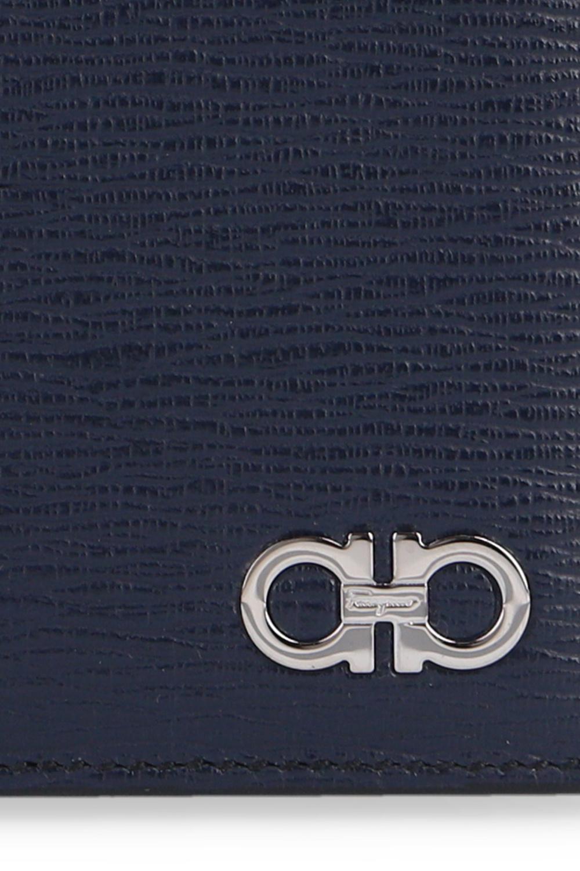 Salvatore Ferragamo logo对折钱包