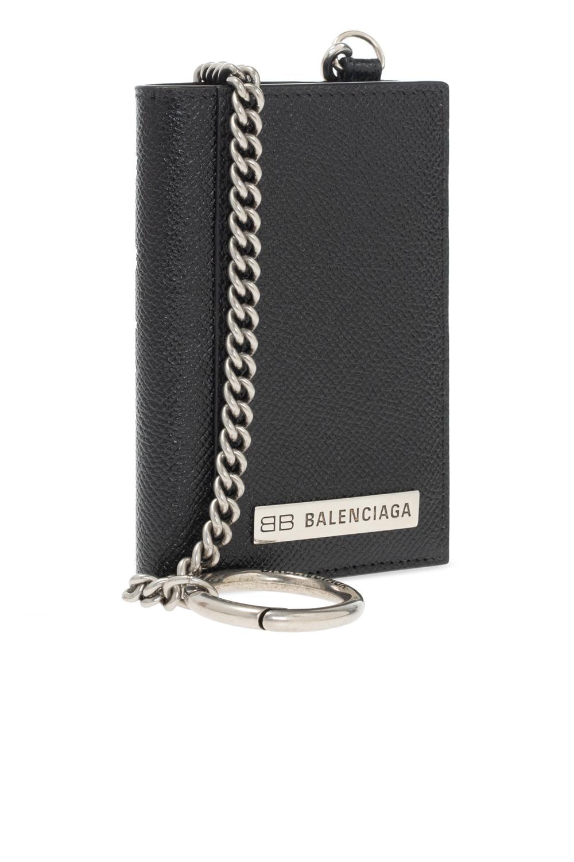 Balenciaga Wallet with chain