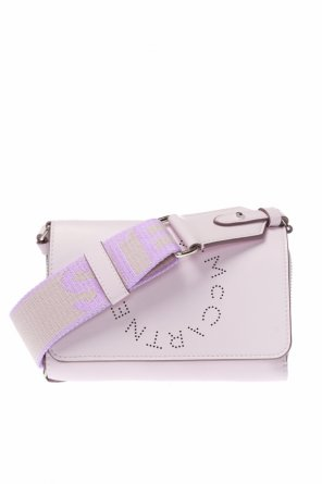Logo-perforated wallet od Stella McCartney