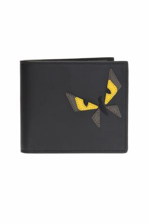 Appliqued bi-fold wallet od Fendi