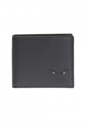 Eye motif bi-fold wallet od Fendi