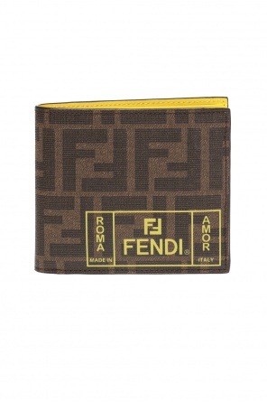 Patterned wallet od Fendi