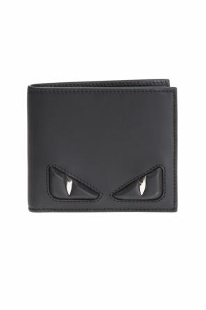 Eyes motif bi-fold wallet od Fendi