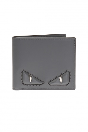 Bi-fold wallet with embossed logo od Fendi