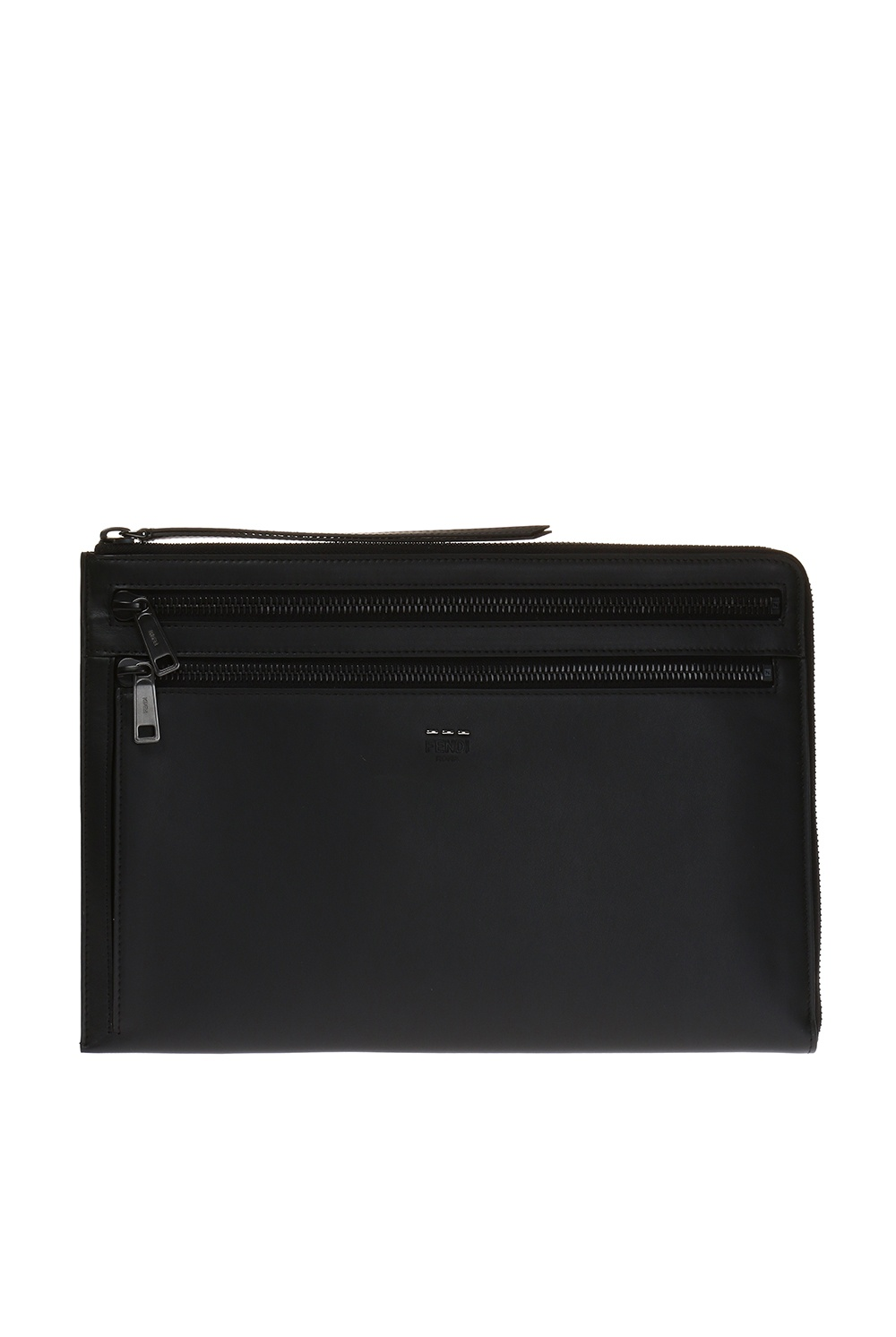 Fendi Laptop case with embossed logo
