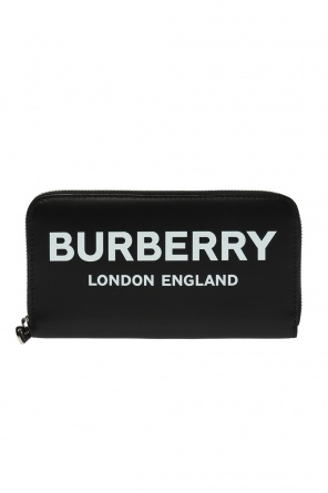 Logo-printed wallet od Burberry