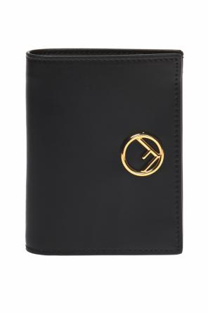 Wallet with a logo od Fendi