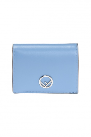 Wallet with metal logo od Fendi