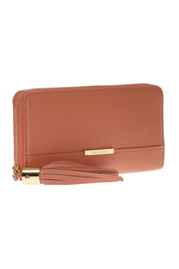 Wallet with tassel od See By Chloe