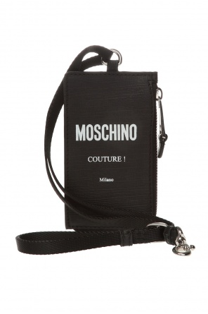 Card holder with strap od Moschino