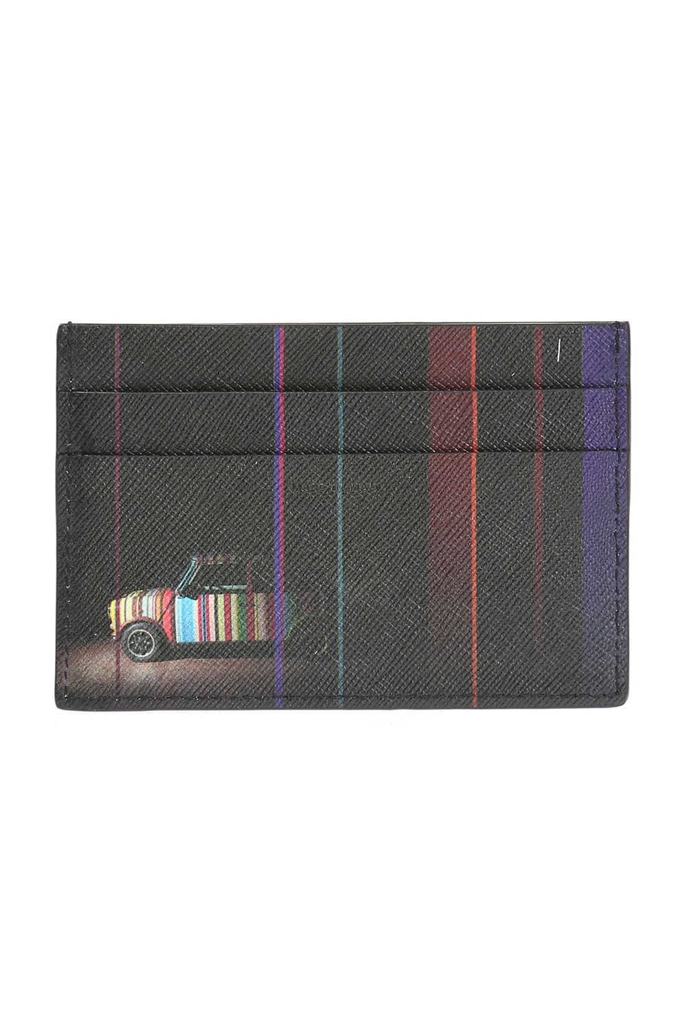 Paul Smith Printed leather card case