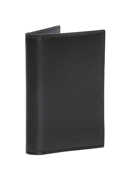 Paul Smith Leather bi-fold card case