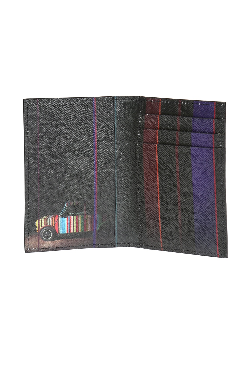 Paul Smith Leather bi-fold card case