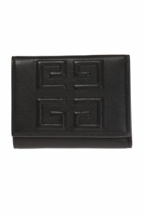 Logo-embroidered wallet od Givenchy