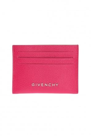 Metal logo card holder od Givenchy