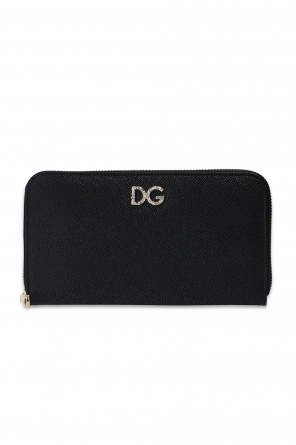 Leather wallet with logo od Dolce & Gabbana