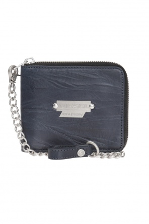 'chain zippy hiresh s' wallet with logo od Diesel