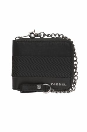 Wallet on a chain with a logo od Diesel