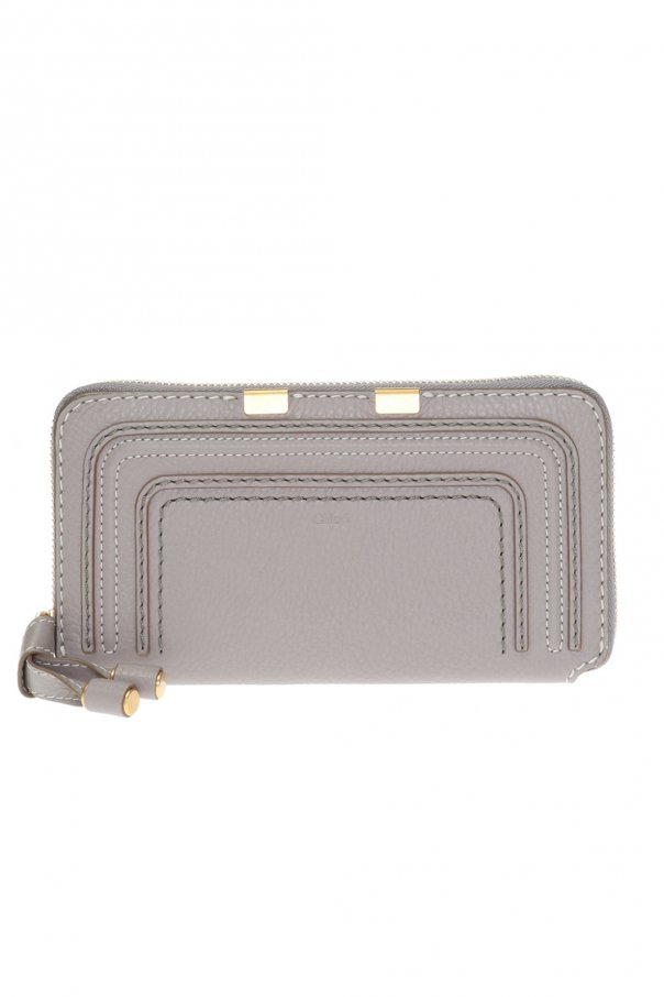Chloé Logo-embossed wallet