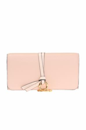 Wallet with decorative charm od Chloe