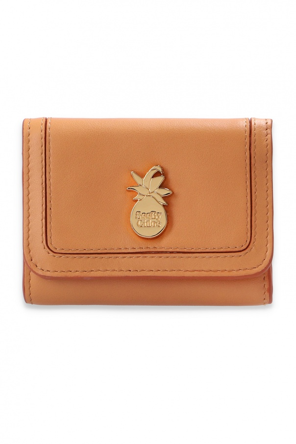 See By Chloe Leather wallet with logo