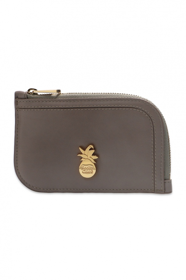See By Chloe Branded card case