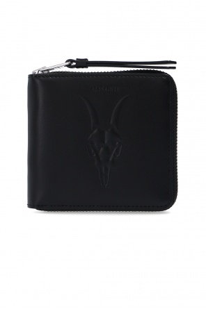 'clapham' leather wallet od AllSaints