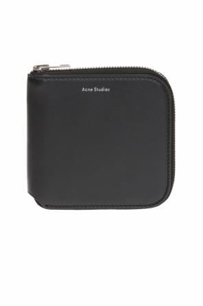 'csarite s' wallet with logo od Acne