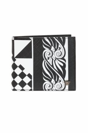 Patterned bi-fold wallet od Versace