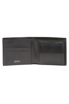 Bi-fold wallet with logo od Versace