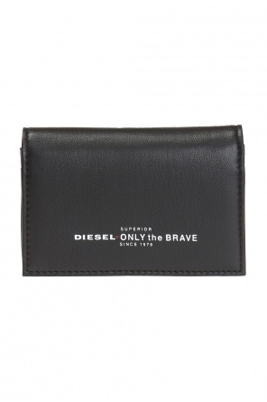 'dukez' printed card case od Diesel