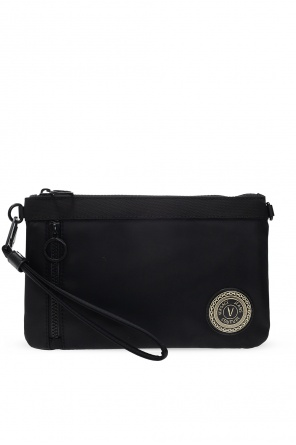 Clutch with logo od Versace Jeans Couture
