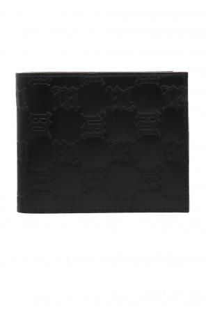 Skórzany portfel z monogramem od MISBHV