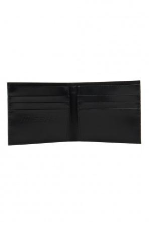 Leather wallet with monogram od MISBHV